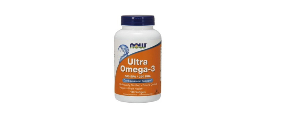 now supplements ultra omega-3 fish oil softgels