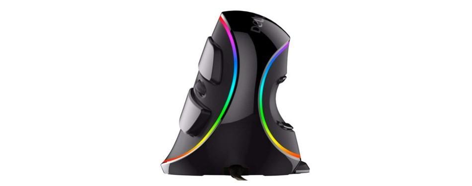 npet ergonomic vertical usb mouse