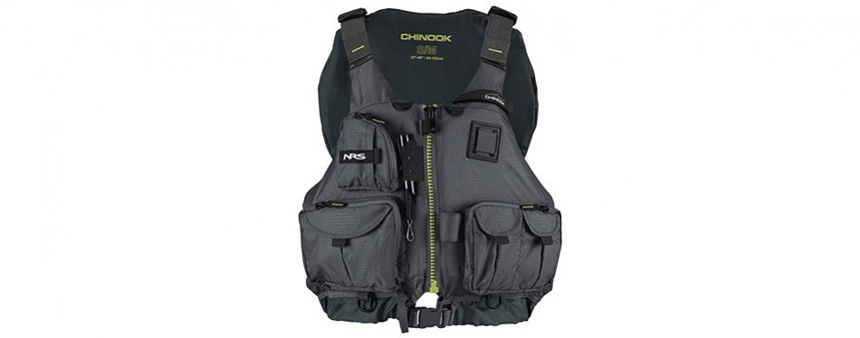 nrs chinook fishing vest pfd
