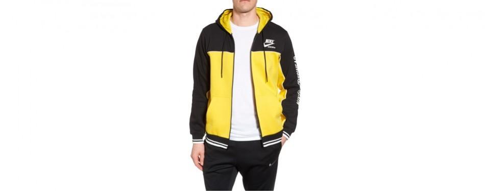 nsw archive zip hoodie