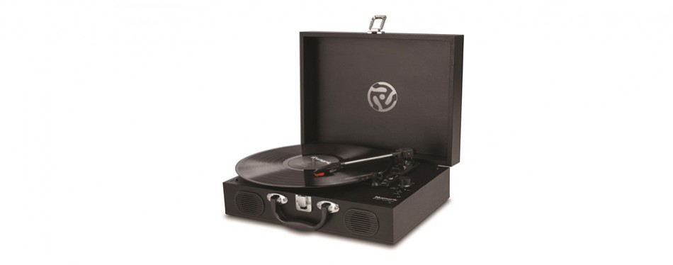 numark pt01 suitcase turntable