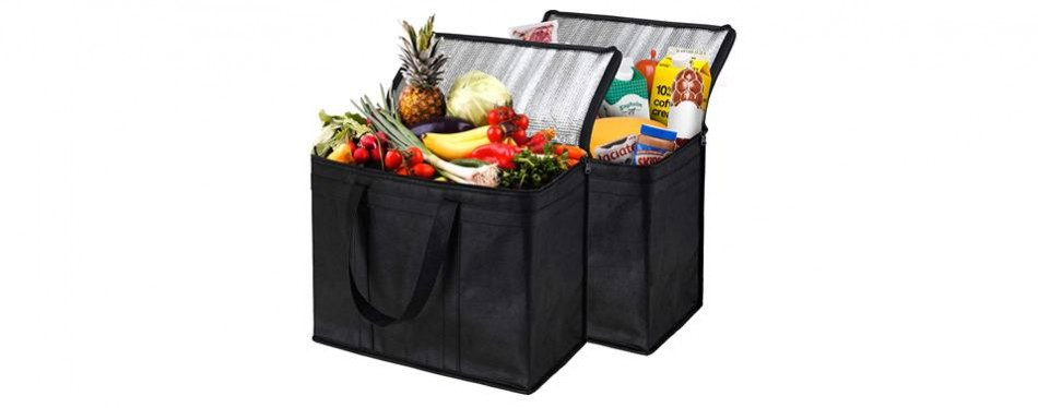nz home extra large insulated food bag 2 pack
