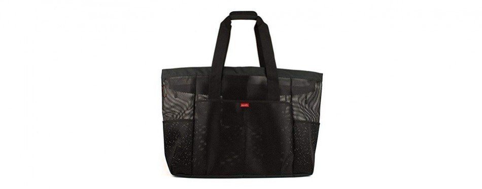 oahu - mesh large beach tote bag