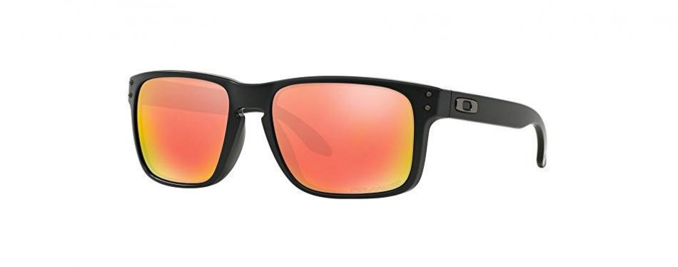 oakley holbrook polarized rectangular sunglasses