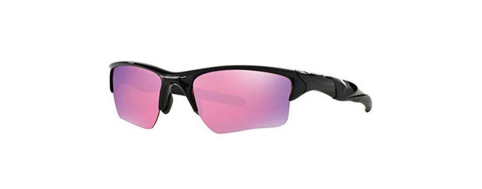 oakley men's half jacket rectangular sunglasses