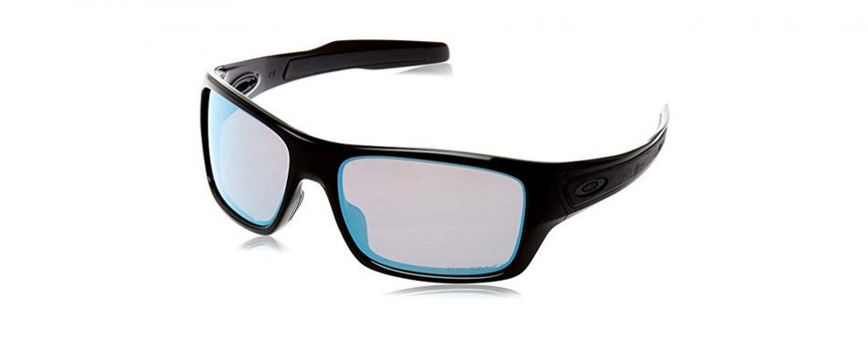 oakley men's turbine rectangular fishing sunglasses
