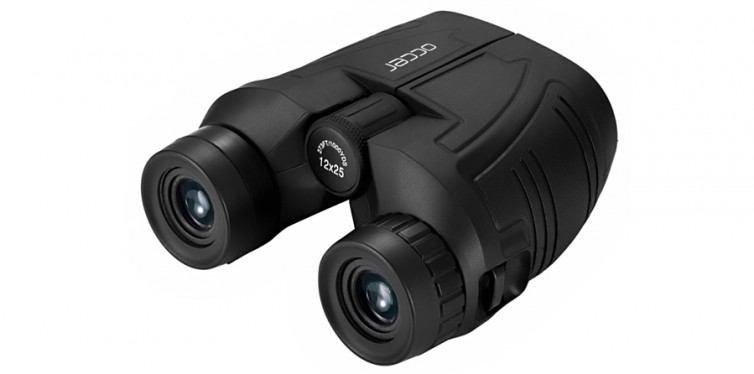 occer 12x25 compact binoculars with low light night vision