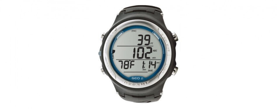 oceanic geo 2.0 air/nitrox wrist computer