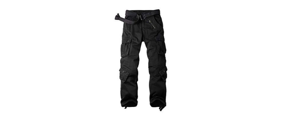 ochenta men's cotton military cargo pants