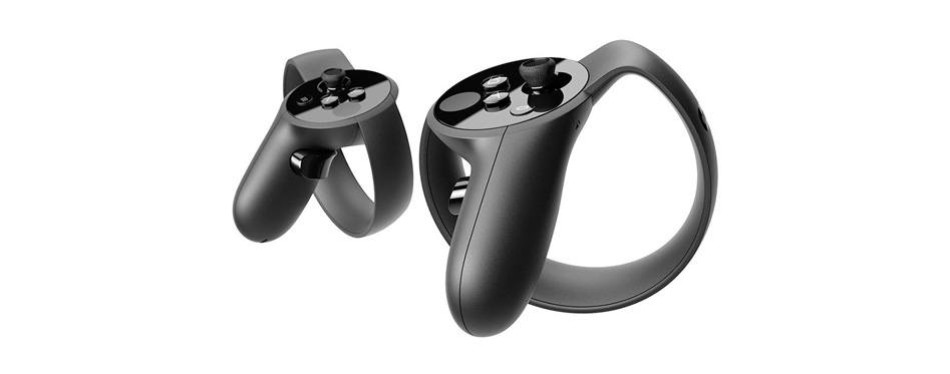 oculus rift + touch virtual reality headset