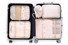 oee 7 piece luggage packing cube set