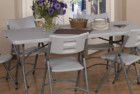 office star resin multipurpose folding table