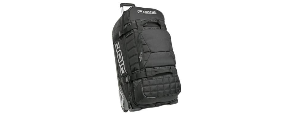 ogio rig 9800 wheeled black gear rolling duffel bag
