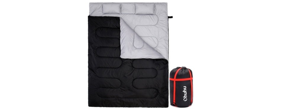 ohuhu double sleeping bag