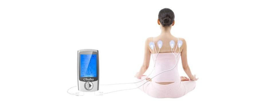 ohuhu rechargeable muscle pain tens unit