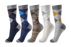 okiss mens argyle cotton dress socks