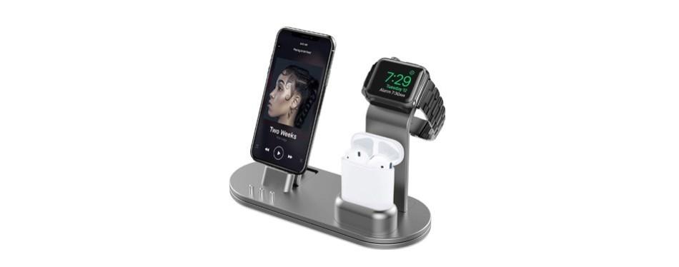 olebr aluminum charging stand