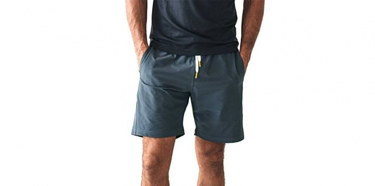 10. olivers apparel water repellent stretch gym shorts