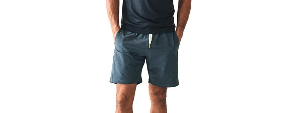 olivers apparel water repellent stretch gym shorts