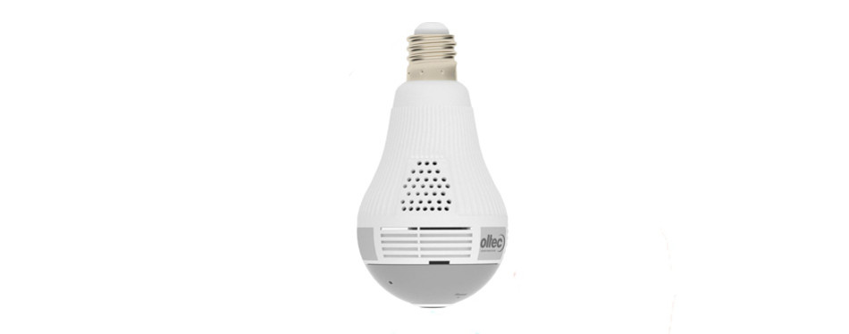 oltec 1080p hd light bulb style security camera