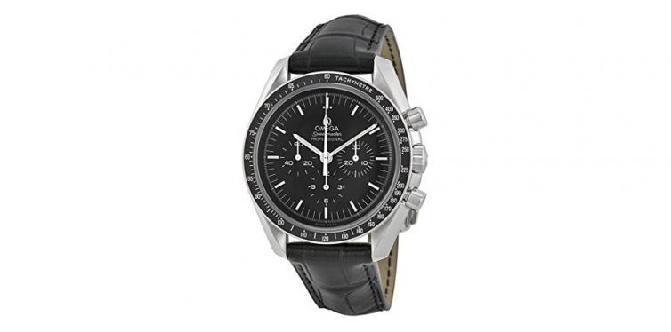 Omega Speedmaster Black Dial Chronograph Watch