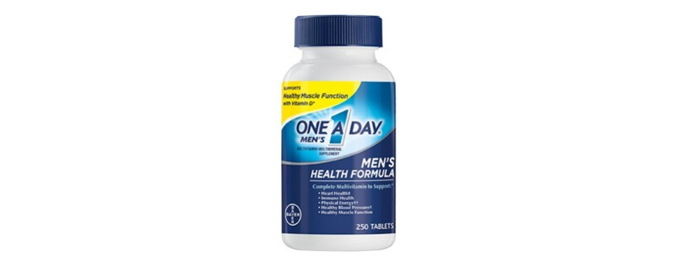 one a day men's health formula multivitamins for men