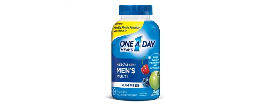 one a day vitacraves multivitamins for men
