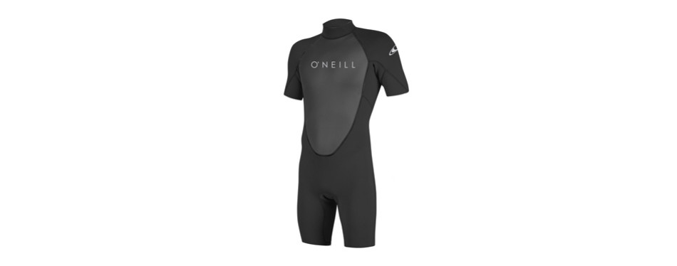 o'neill men's reactor-2 2mm back zip short sleeve spring wetsuit