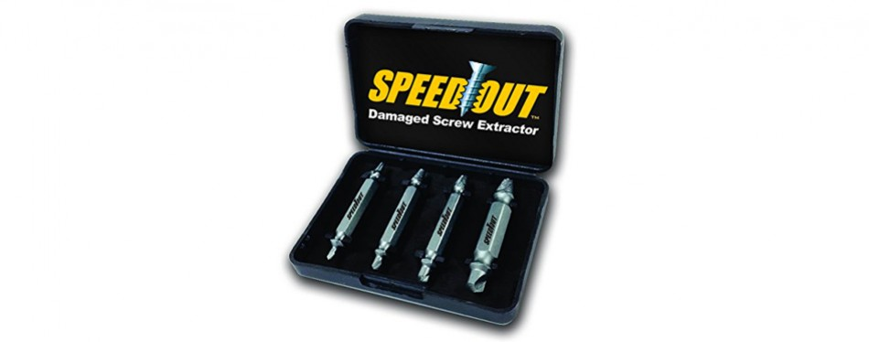 ontel speedout damaged screw & bolt extractor set
