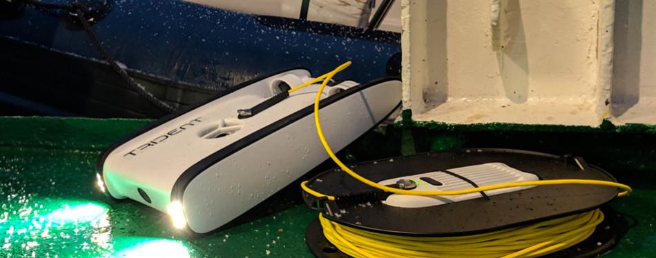 open rov trident underwater drone