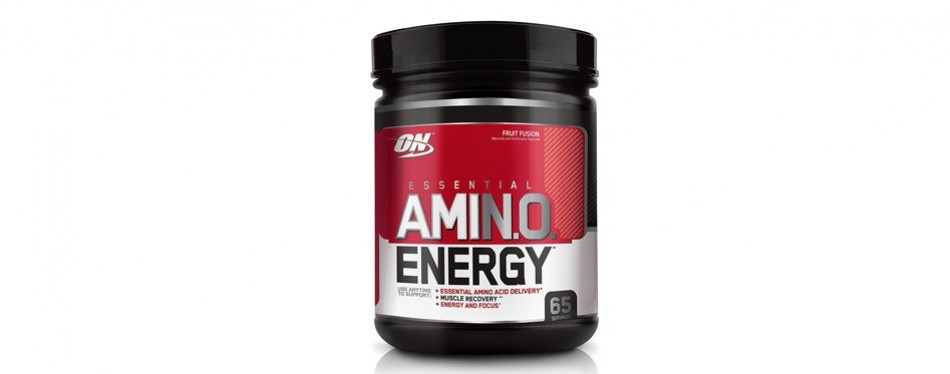 optimum nutrition energy pre-workout amino acids