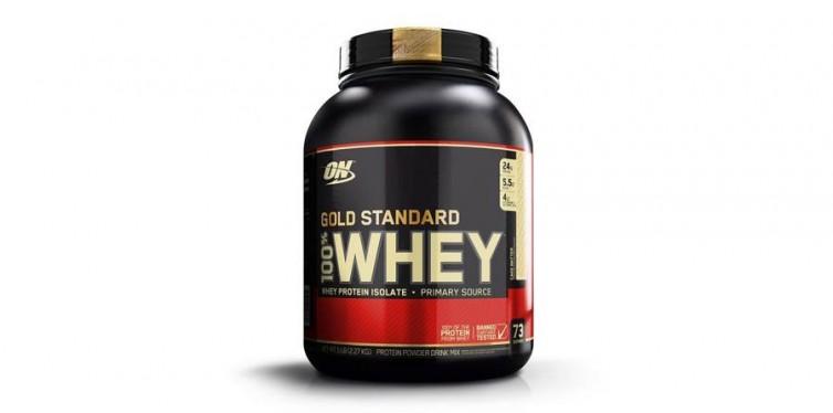 1. Optimum Nutrition Gold Standard 100% Whey Protein Powder