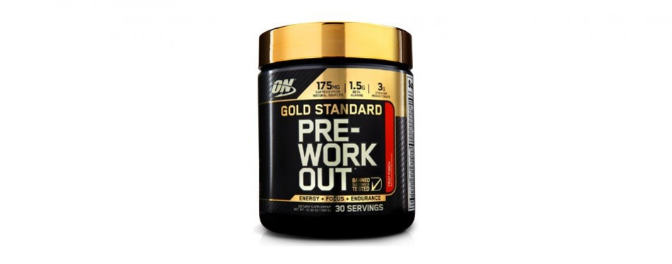 optimum nutrition gold standard pre-workout blend