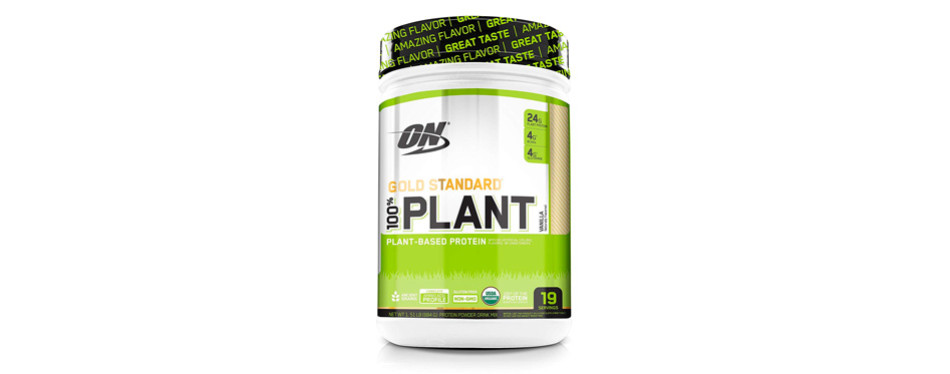 optimum nutrition gold standard protein powder: vanilla