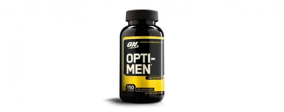 optimum nutrition opti-men, men's daily multivitamin