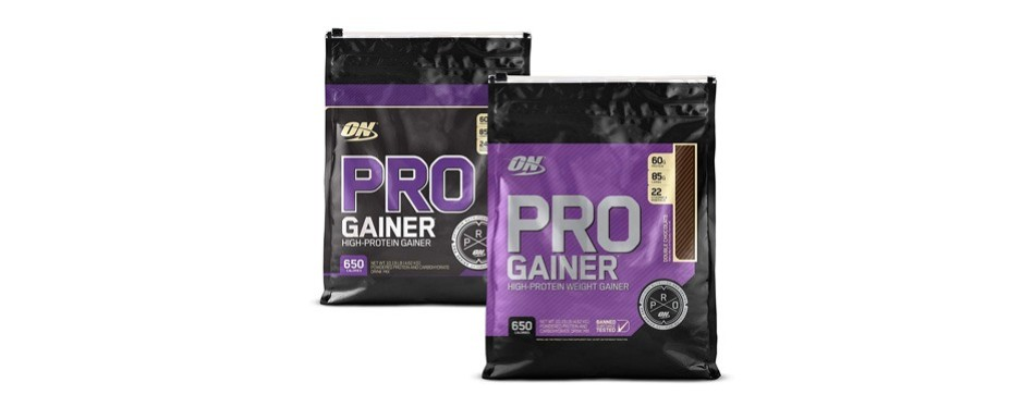 optimum nutrition pro gainer weight gainer protein powder