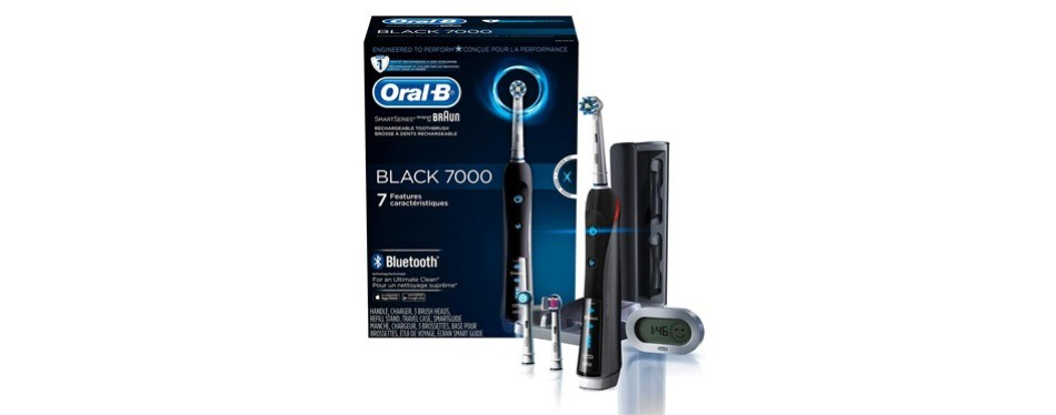 oral-b 7000 smartseries rechargeable electric toothbrush