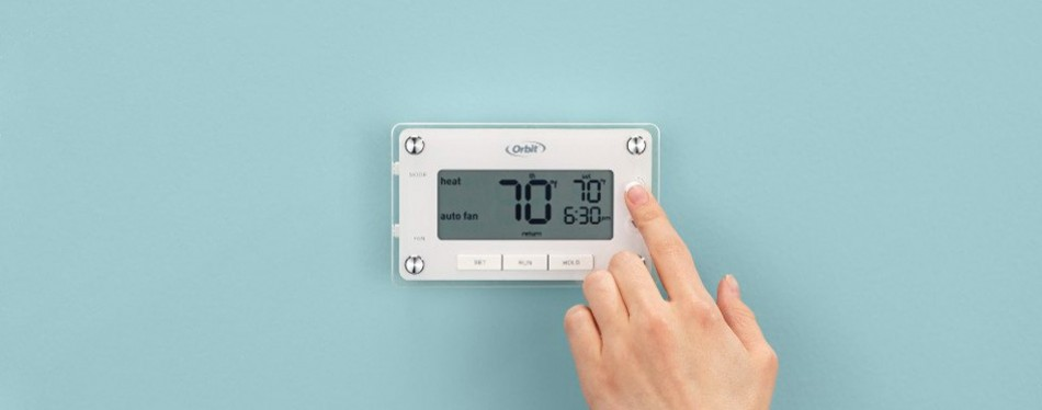 orbit 83521 clear comfort programmable thermostat