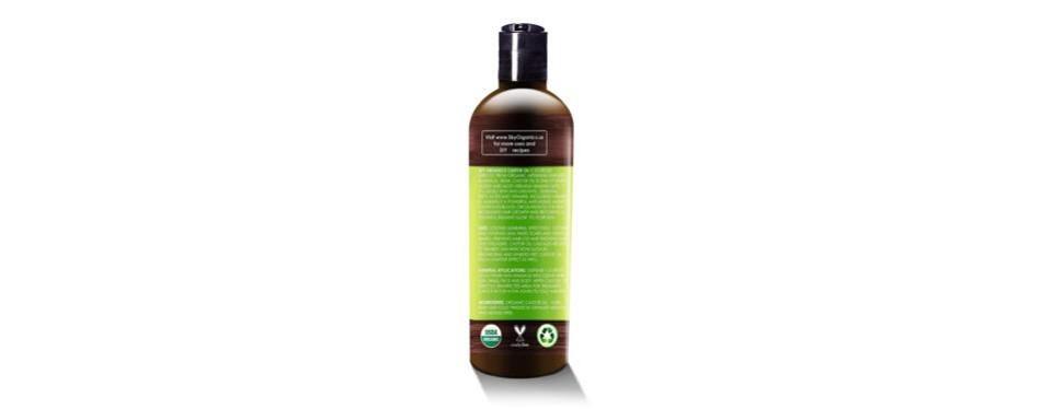 organic castor hair oil by sky organics