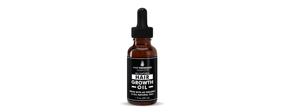 organic hair growth oils for hair thickening by hair thickness maximizer