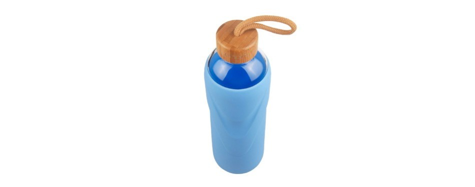 origin best bpa-free borosilicate glass water bottle
