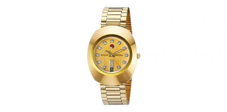 original golden dial watch