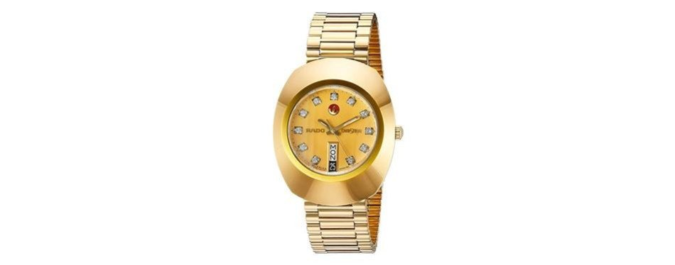 original golden dial watch