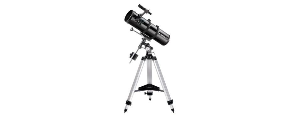 orion 09007 spaceprobe 130st equatorial reflector telescope (black)