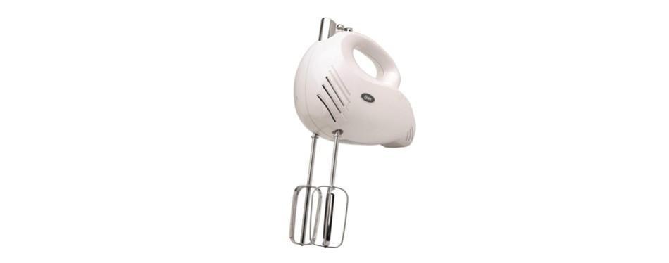 oster 2500 inspire 240-watt 5-speed hand mixer