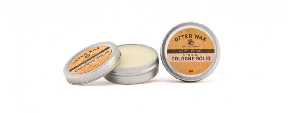 otter wax spruce cologne