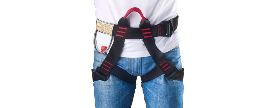 oumers safe seat belts climbing harness