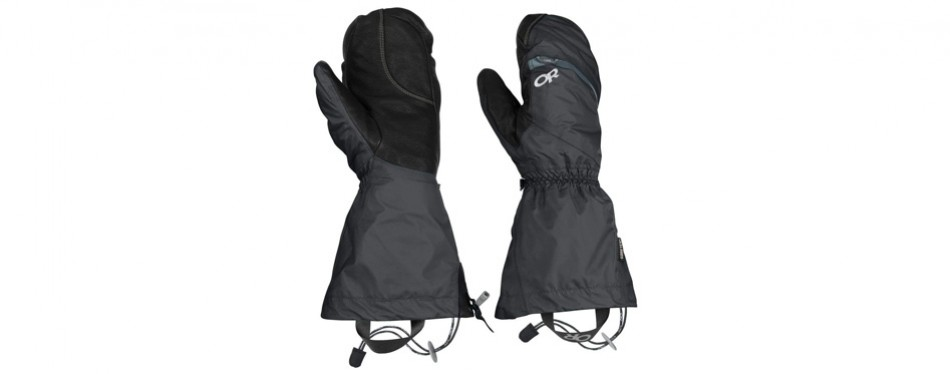 outdoor research alti mitts hiking gloves