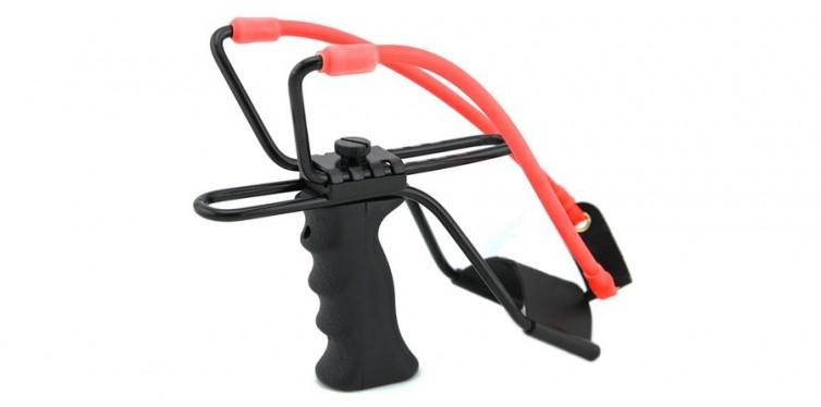 outdoorlife adjustable stainless hunting slingshot