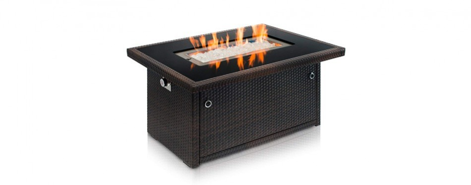 outland living series 401 propane gas fire pit table